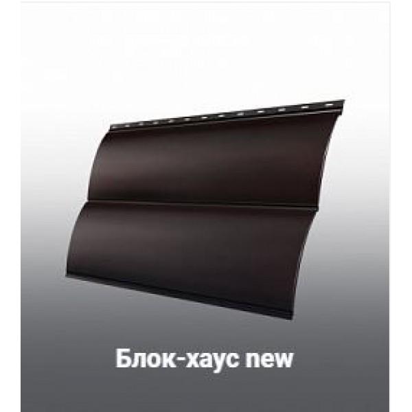 Металлический сайдинг Grand Line Блок-хаус new