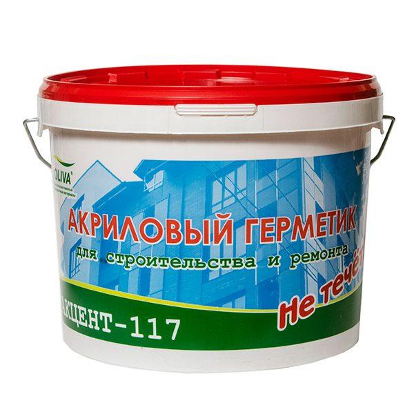 "Герметик ""Акцент-117"" бел. 10 л (15 кг)"